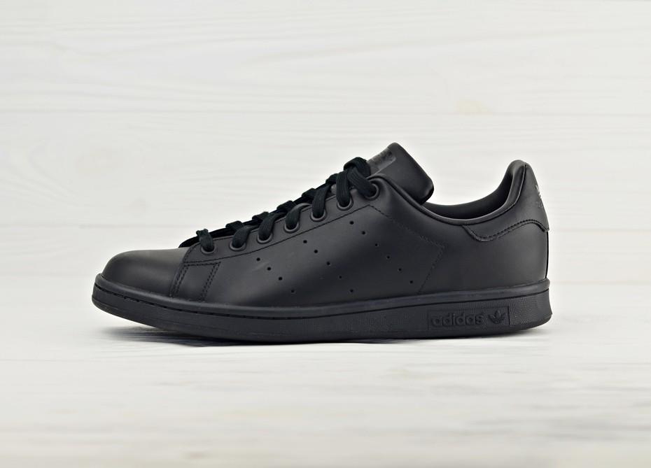 d989f8da8 Кроссовки Adidas Originals Stan Smith - Black/Black | Интернет-магазин Sole
