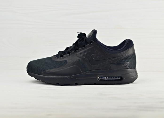 Мужские кроссовки Nike Air Max Zero Essential - Black/Black/Black | Интернет-магазин Sole