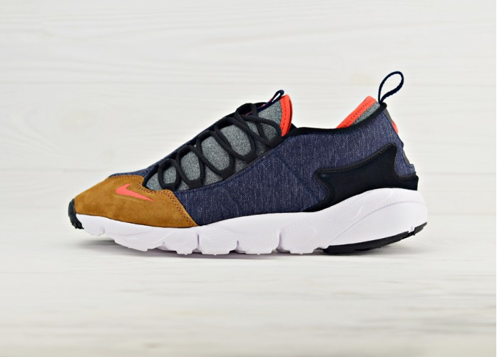 Кроссовки Nike Air Footscape NM - Obsidian/Team Orange-Anthracite | Интернет-магазин Sole