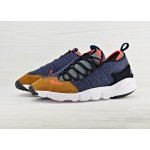 Nike Air Footscape NM - Obsidian/Team Orange-Anthracite, фото 2 | Интернет-магазин Sole