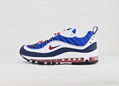 "Nike WMNS Air Max 98 OG ""Gundam""  - White / Red / Navy"