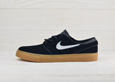 Nike Zoom Stefan Janoski - Black/White-Gum Light Brown