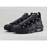 Мужские кроссовки Nike Air More Money - Black/Metallic Silver-Black, фото 2 | Интернет-магазин Sole