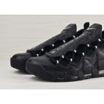 Мужские кроссовки Nike Air More Money - Black/Metallic Silver-Black, фото 3 | Интернет-магазин Sole