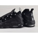 Мужские кроссовки Nike Air More Money - Black/Metallic Silver-Black, фото 4 | Интернет-магазин Sole