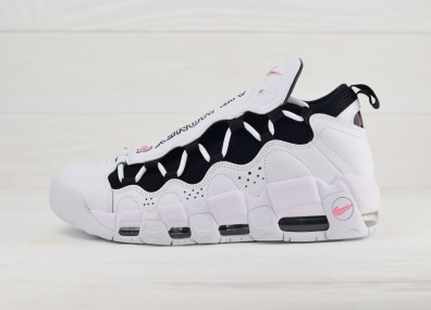 Nike Air More Money - White/Coral Chalk/White/Black