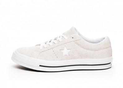 Кроссовки Converse One Star Ox (White / White / White)