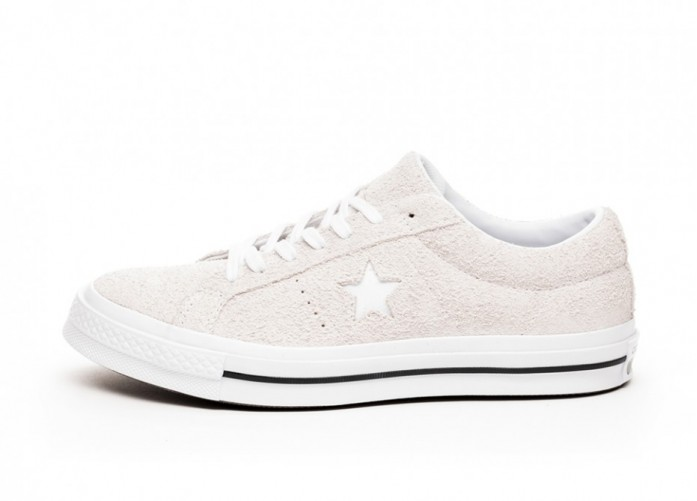 Кроссовки Converse One Star Ox - White / White / White | Интернет-магазин Sole