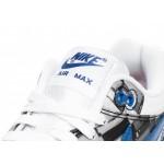 "Кроссовки Nike x Atmos Air Max 1 Print ""We Love Nike"" - White / Game Royal - Neutral Grey, фото 4 | Интернет-магазин Sole"