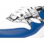 "Кроссовки Nike x Atmos Air Max 1 Print ""We Love Nike"" - White / Game Royal - Neutral Grey, фото 5 | Интернет-магазин Sole"