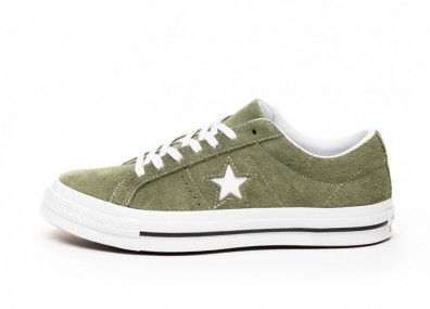 Кроссовки Converse One Star Ox (Field Surplus / White / White)