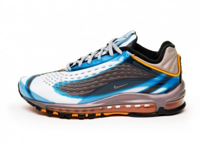 "Кроссовки Nike Air Max Deluxe ""OG Colorway"" - Photo Blue / Wolf Grey - Orange Peel - Black"