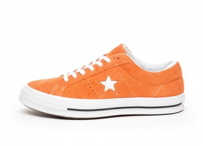 Кроссовки Converse One Star Ox (Bold Mandarin / White / White)