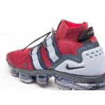 Кроссовки Nike Air Vapormax Flyknit Utility - Team Red / Black - Obsidian - Ashen Slate, фото 5 | Интернет-магазин Sole