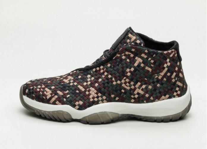 Кроссовки Nike Air Jordan Future PRM - Dark Army / Black - Sail | Интернет-магазин Sole
