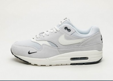 Кроссовки Nike Air Max 1 PRM - Pure Platinum / Sail - Black - White