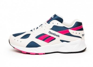 Кроссовки Reebok Aztrek OG - Chalk / Collegiate Royal / Bright Rose / White