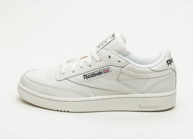 Кроссовки Reebok Club C 85 MU - Chalk / Black