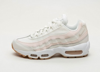 Кроссовки Nike Wmns Air Max 95 - Sail / Guava Ice - Gum Light Brown - White