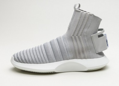 Кроссовки adidas Crazy 1 ADV Sock PK - Grey Two / Grey Two / Real Purple