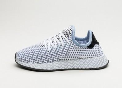 Кроссовки adidas Deerupt Runner W - Chalk Blue / Chalk Blue / Core Black