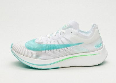 Кроссовки Nike Zoom Fly SP - White / Rage Green - Summit White