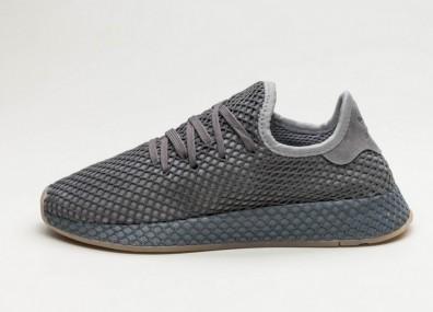 Кроссовки adidas Deerupt Runner - Grey Three / Grey Four / Ftwr White