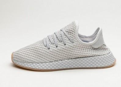 Кроссовки adidas Deerupt Runner - Grey Three / Lgh Solid Grey / Gum