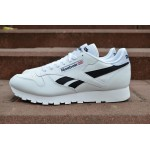 Мужские кроссовки Reebok Classic Leather Pop (White / Black), фото 1 | Интернет-магазин Sole
