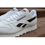 Мужские кроссовки Reebok Classic Leather Pop (White / Black), фото 2 | Интернет-магазин Sole