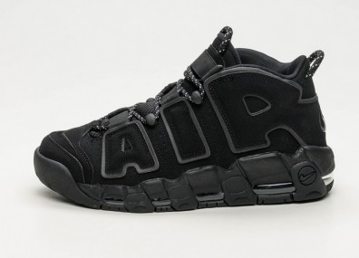 Кроссовки Nike Air More Uptempo - Black / Black - Black