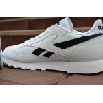 Мужские кроссовки Reebok Classic Leather Pop (White / Black), фото 5 | Интернет-магазин Sole