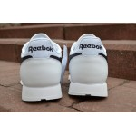 Мужские кроссовки Reebok Classic Leather Pop (White / Black), фото 6 | Интернет-магазин Sole