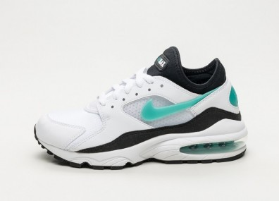 Кроссовки Nike Wmns Air Max 93 - White / Sport Turquoise - Black