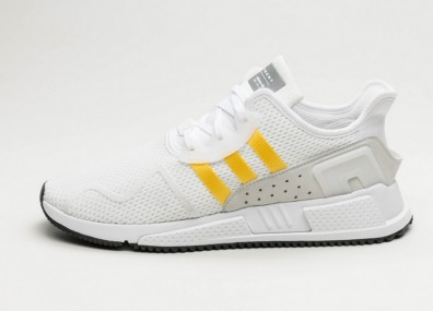 Кроссовки adidas Equipment Cushion ADV - Ftwr White / Eqt Yellow / Silver Metallic