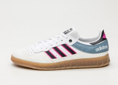 Кроссовки adidas Handball Top - Vintage White / Core Black / Shock Pink