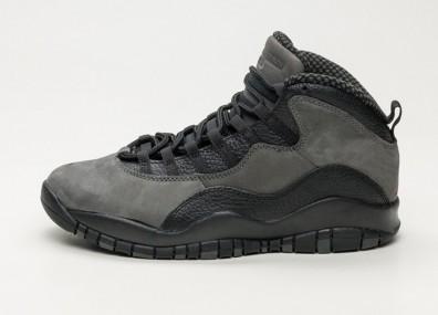 "Кроссовки Nike Air Jordan 10 Retro ""Dark Shadow"" - Dark Shadow / True Red - Black"