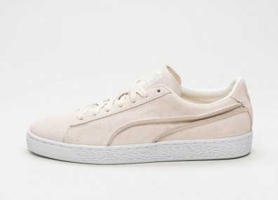 Кроссовки Puma Suede Classic Exposed Seams - Whisper White