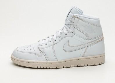 Кроссовки Nike Air Jordan 1 Retro High Premium - Pure Platinum / Desert Sand