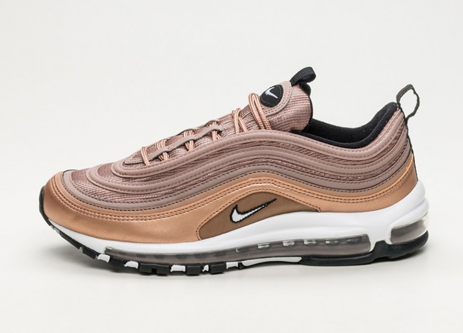 save off d13af a0be8 Кроссовки Nike Air Max 97 - Desert Dust / White - Metallic Red Bronze -  Black