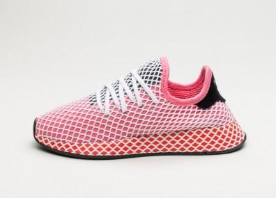 Кроссовки adidas Deerupt Runner W - Chalk Pink / Chalk Pink / Bold Orange