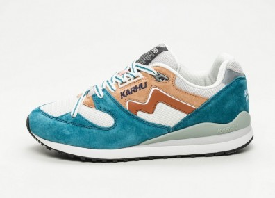 "Кроссовки Karhu Synchron Classic ""Linnut Pack 2"" - Blue Coral / Glazed Ginger"