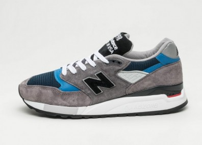 "Кроссовки New Balance M998NF ""Made in USA"" - Grey / Blue"
