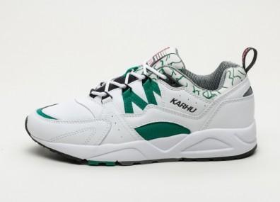 "Кроссовки Karhu Fusion 2.0 ""OG"" - White / Ultramarine Green"