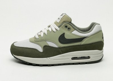 Кроссовки Nike Air Max 1 - Medium Olive / Sequoia - Neutral Olive