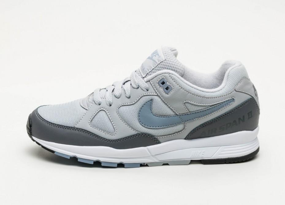 Кроссовки Nike Air Span II (Wolf Grey   Ashen Slate - Dark Grey ... fc814daee