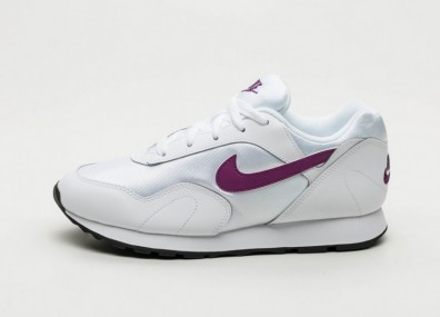 Кроссовки Nike Wmns Outburst (White / Bright Grape - Black)