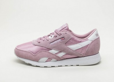 Кроссовки Reebok Classic Nylon M (Infused Lilac / White)