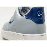 Кроссовки Nike Air Force 1 '07 LV8 Leather (Wolf Grey / Deep Royal Blue - Summit White), фото 6 | Интернет-магазин Sole