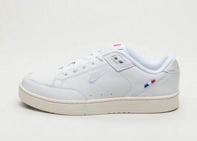 "Кроссовки Nike Grandstand II - Pinnacle ""France"" White / White - Sail - Hyper Cobalt"